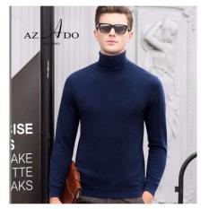 Áo len Cao cổ Thời trang Azado (Xanh đen)