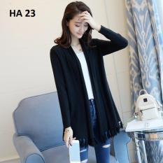 Áo len cardigan nữ Family shop HA 23 (đen)
