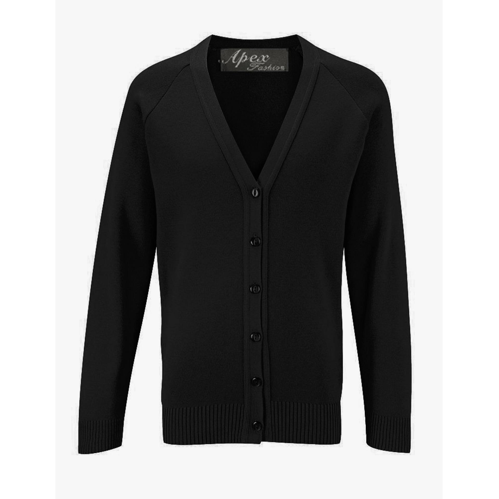 Địa Chỉ Bán Aó Len Nam Apex Fashion – 21576A ( Black)