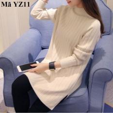 Áo len nữ dáng dài YZ11