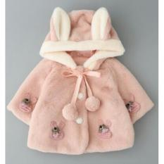 Áo lông tai thỏ tqxk cho bé gái 2-6y