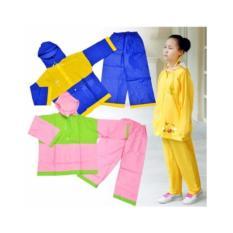 Áo mưa bộ trẻ em Thiên Phú số 5( Bé từ 7-8 tuổi màu ngẫu nhiên)