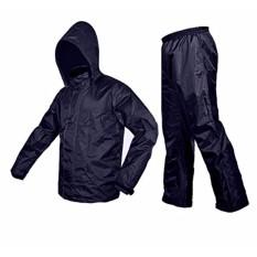 Áo mưa bộ VẢI DÙ siêu nhẹ mẫu 2017 (Áo và quần)