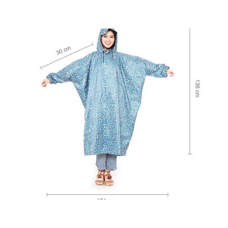 Áo Mưa họa tiết vải dù – cao cấp
