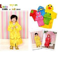Áo mưa ngộ nghĩnh cho bé ( màu vàng)