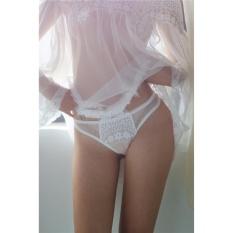Áo ngủ sexy trễ vai tay dài CDAN30 Kim Phát – Trắng – Size M
