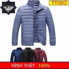 Áo phao lông vũ cao cấp tặng quần legging nữ HMTT003 ( xanh da trời nhạt)