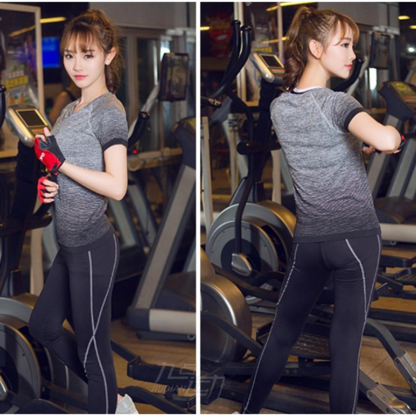 Áo phông thun thể thao nữ Roht - Hàng nhập khẩu (đồ tập thể thao, tập gym, thể dục,thể hình,...