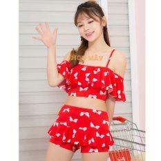 Áo Tắm Xinh Tự Tin Shop Mây AT004 (Đỏ)