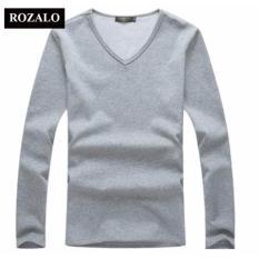 Áo thun giữ nhiệt nam ROZALO RMA55012G (Xám)
