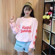 Áo Thun Nữ Dài Tay Heart Breaker Phong Nam WM TOP 300002 BP
