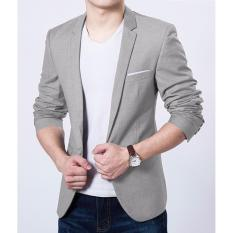 Áo Vest nam phong cách 3604[màu xám]