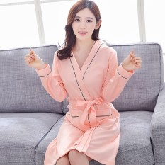 Autumn and Winter Cotton Couple Robe – (female Models) – intl