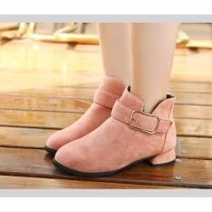 B07H – Giày boot cho bé phong cách hàn quốc