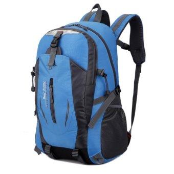 Ba Lô Trekking Vải Dù POHAN TV10 (xanh trời)- tặng ví khi mua 2 SP