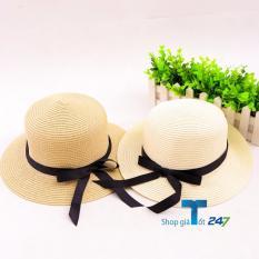 Giảm giá Bộ 02 nón nữ thời trang nơ nhỏ đính nơ điệu đà (Sáng)