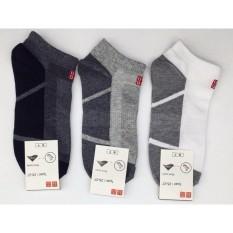 Bộ 10 đôi Tất nam cổ thấp Uni - Nhật Bản