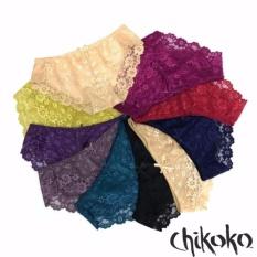Bộ 10 quần chip đồ lót ren nữ cao cấp quyến rũ (Nhiều Màu)