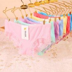 Bộ 10 quần lót nữ Modal viền ren