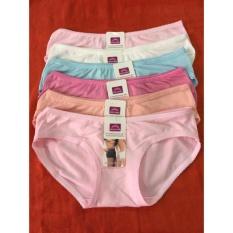 bộ 10 quần lót nữ thun mềm thái lan TL247