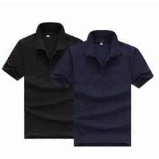 Bộ 2 áo thun nam body cổ bẻ chuẩn mọi phong cách ( đen, xám )