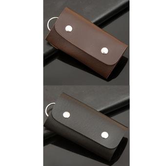 Bộ 2 Bóp Đựng Móc Chìa Khóa SPK31051 (Đen Nâu)
