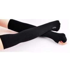 Cửa hàng bán Bộ 2 đôi gang tay nam chống nắng xỏ ngón Hàn Quốc GTB51 (đen)
