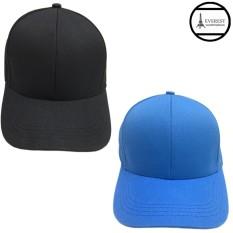 Bộ 2 nón lưỡi trai nữ thời trang Everest H307 (Đen-Xanh)