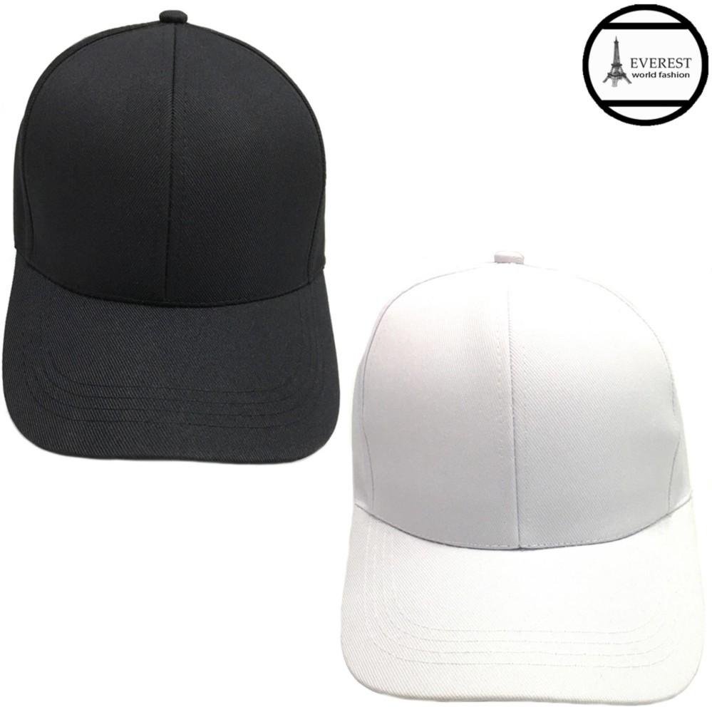 Bộ 2 nón lưỡi trai nữ thời trang Everest H308 (Đen-Trắng)