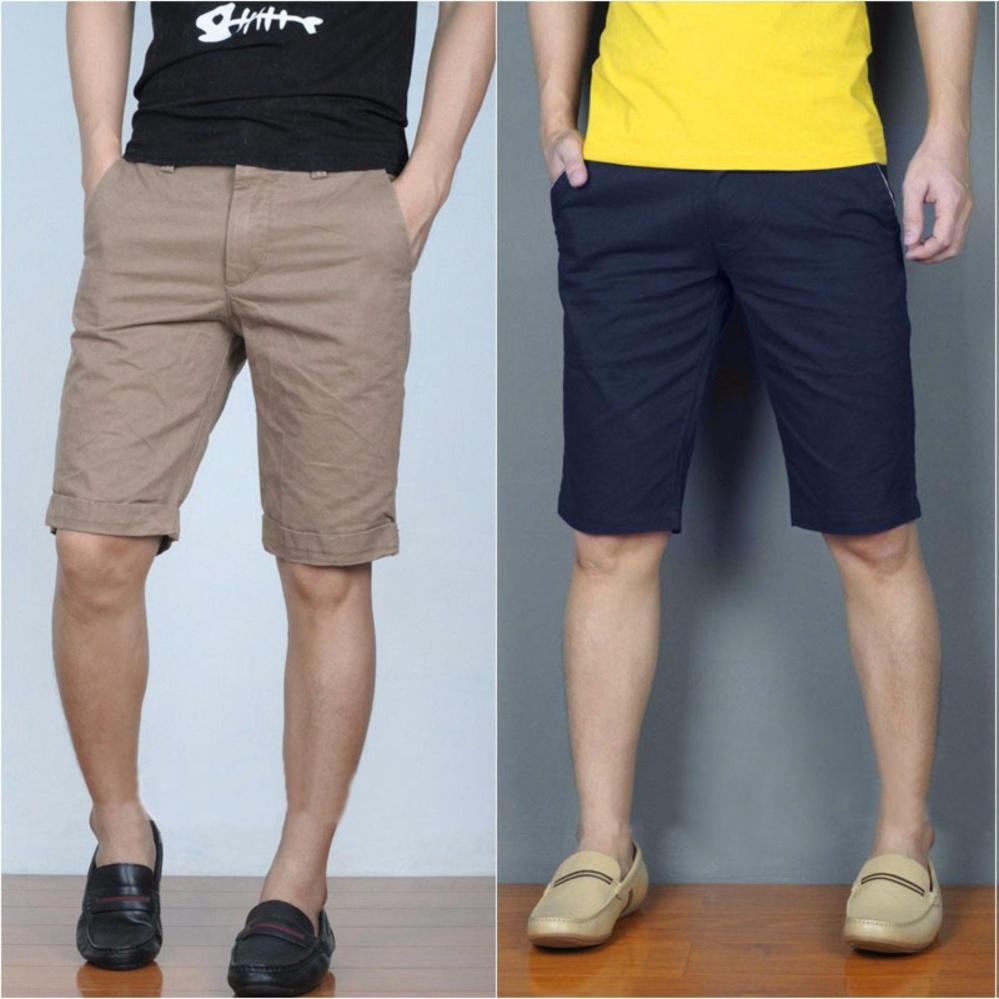 Bộ 2 Quần Shorts Nam Thời Trang Zenko 2MEN SHORTS 800003V2 KHA N