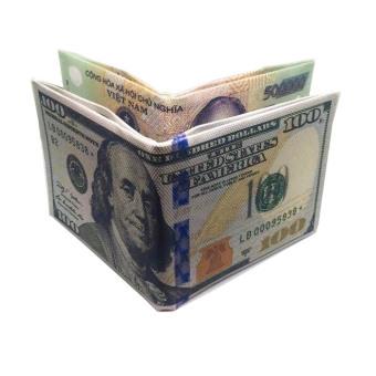 Bộ 2 ví tiền 100USD và 500000Đ