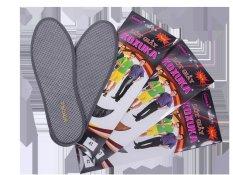 Bộ 3 đôi lót giày khử mùi than hoạt tính dành cho nam KOXUKA (Xám)