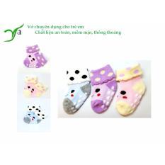Sét 3 đôi vớ siêu đáng yêu dành cho các bé từ 0-3 tuổi