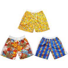 Bộ 3 Quần short đi biển cho bé trai 3-12 tuổi Tri Lan (màu ngẫu nhiên)