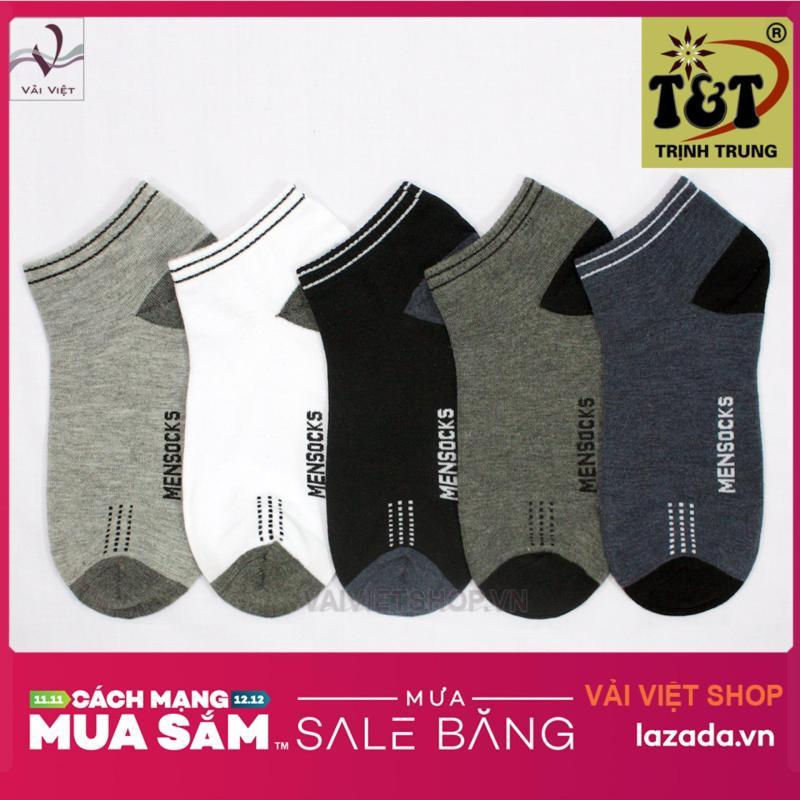 Nơi bán Bộ 5 đôi vớ cổ ngắn (Vải Việt Shop)-Hãng phân phối chính thức