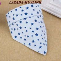 Bộ 5 khăn yếm tam giác 2 lớp