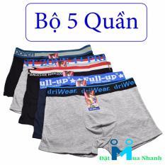 Bộ 5 quần Boxer Full Up - Hàng Việt Nam