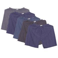Bộ 5 Quần đùi ngủ mặc trong nam 5MEN SHORTS 022 2EABD