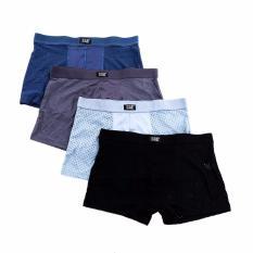 Bộ 5 quần lót thông hơi nam (sịp đùi)