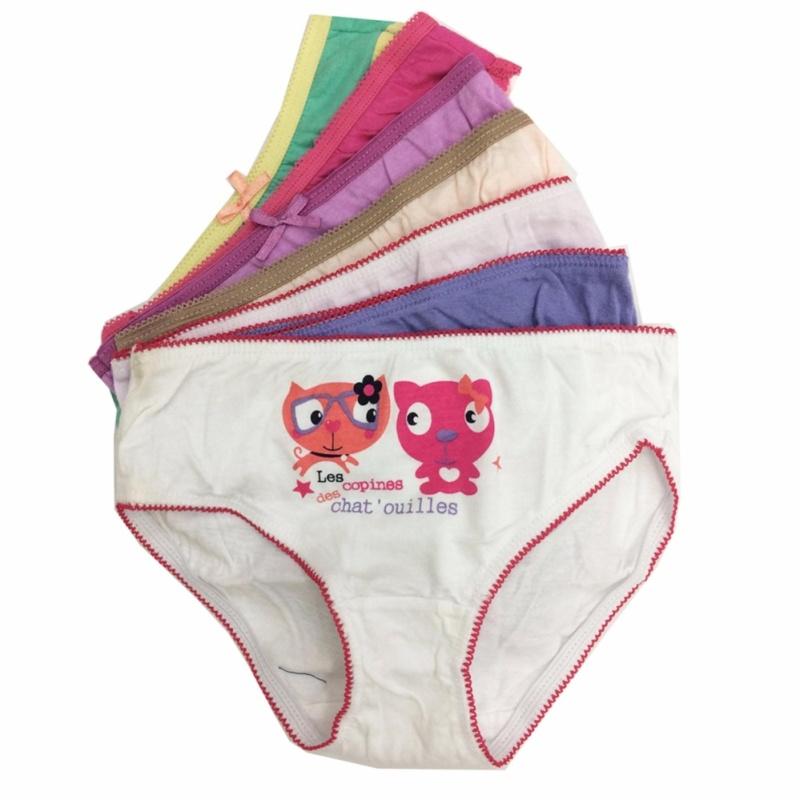 Nơi bán Bộ 7 quần lót - quần chíp bé gái cotton -MS05