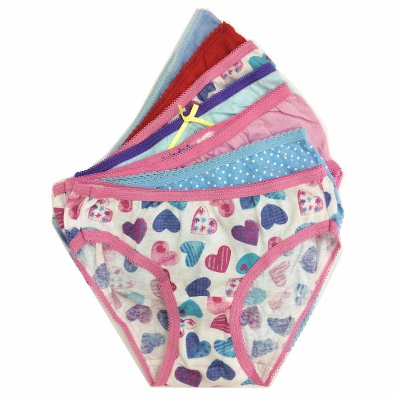 Nơi bán Bộ 7 quần lót - quần chíp bé gái cotton Thái Lan-MS04