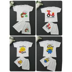 Set 2 bộ cotton cho bé 1-5y made in VN