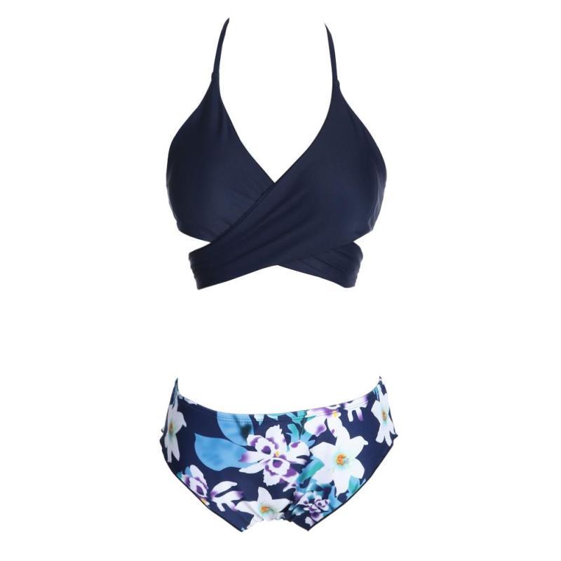 Nơi bán Bộ đồ bơi bikini nữ đệm độn hot 2017 (S) - intl
