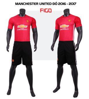 Bộ Đồ Đá Bóng Manchester United 2016 – 2017 (Đỏ)  đơn giản