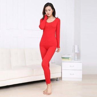 Bộ đồ giữ nhiệt nữ ZANI ZWS873001R (Đỏ)