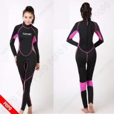 Bộ đồ lặn, quần áo lặn biển cho NỮ SEAC 2.5mm giữ ấm, thoáng khí, chống thầm nước cao cấp POPO Sports
