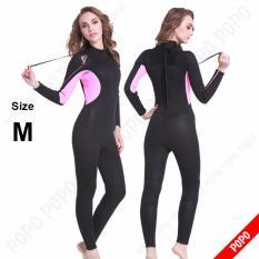Bộ đồ lặn, quần áo lặn biển cho NỮ dày 3.0mm giữ ấm, thoáng khí, chất liệu cao cấp ngăn nước + Quà Tặng của Shop LEPIN