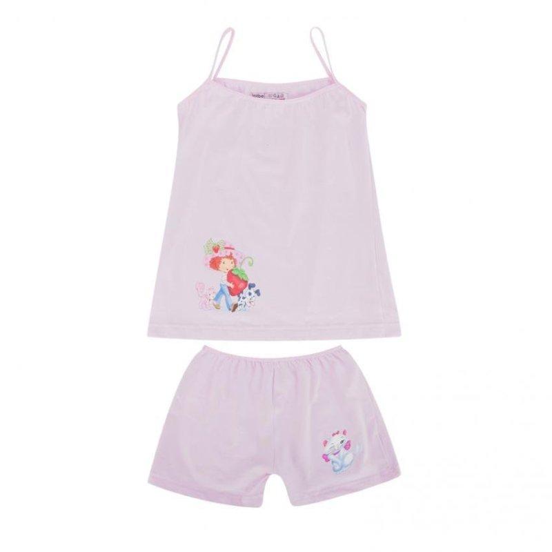 Nơi bán Bộ đồ mặc ở nhà Cotton 100% màu hồng nhãn hiệu lotbe