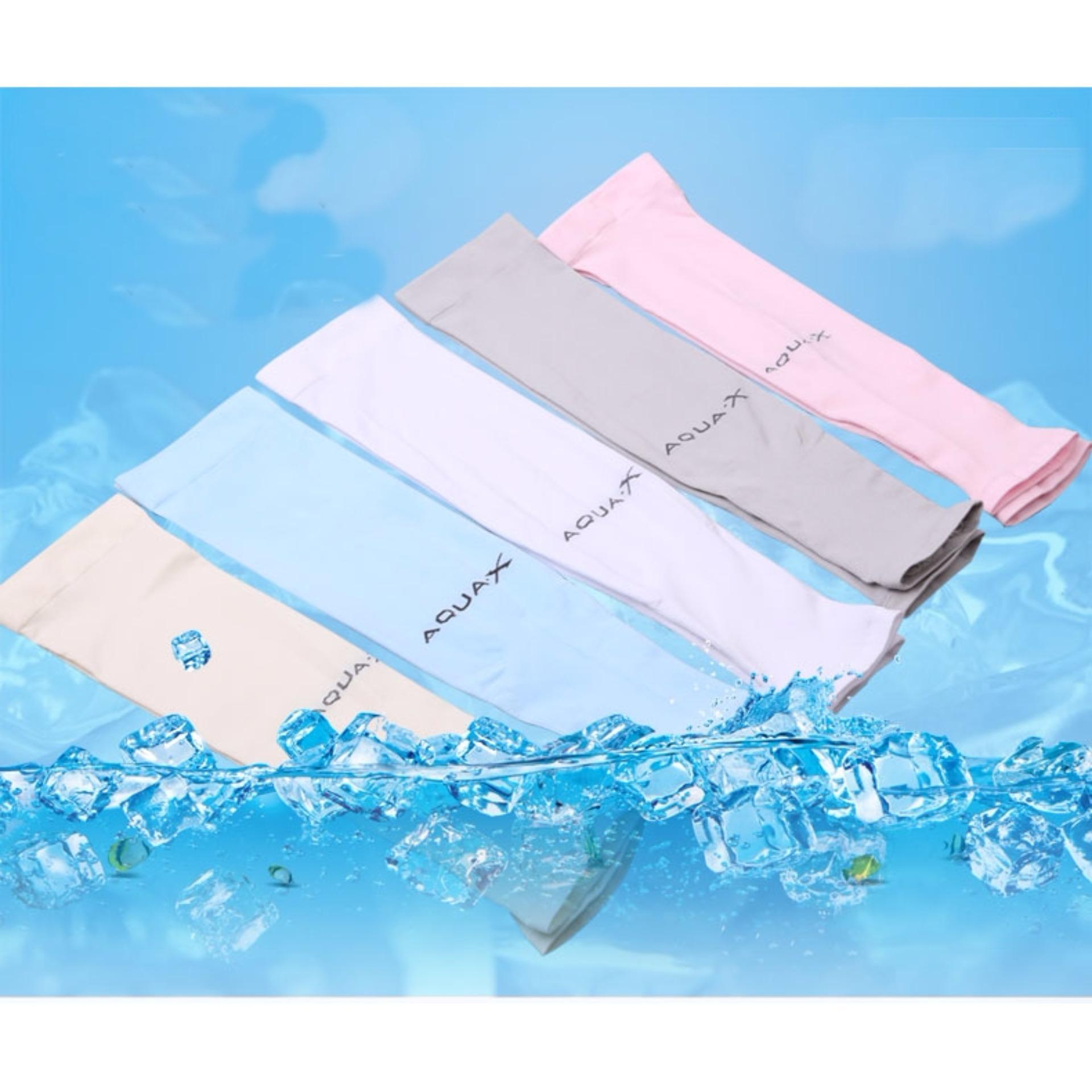 Bộ Găng tay AQUAX chống nắng, chống tia UV (Tím)
