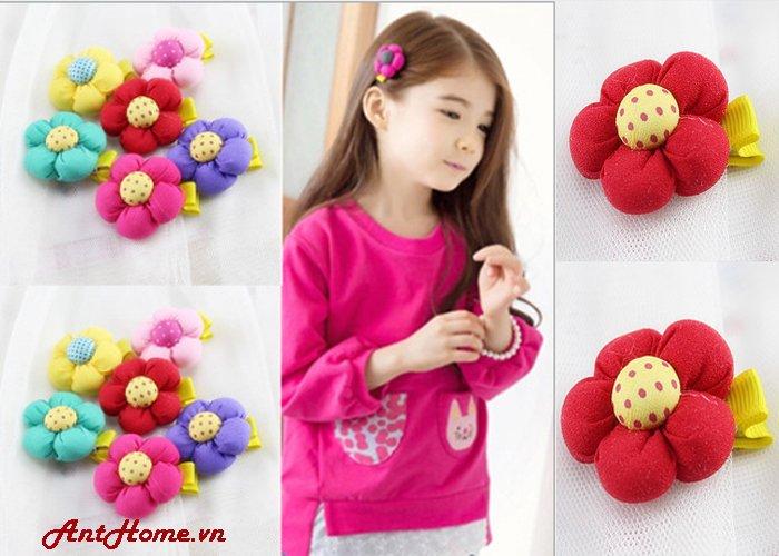 Bộ Kẹp Hoa Handmade Kh78 (Đỏ)